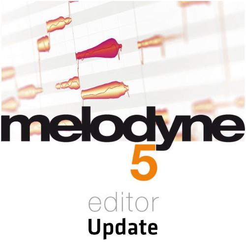 Melodyne 5 Editor Update