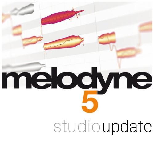 Melodyne 5 Studio Update