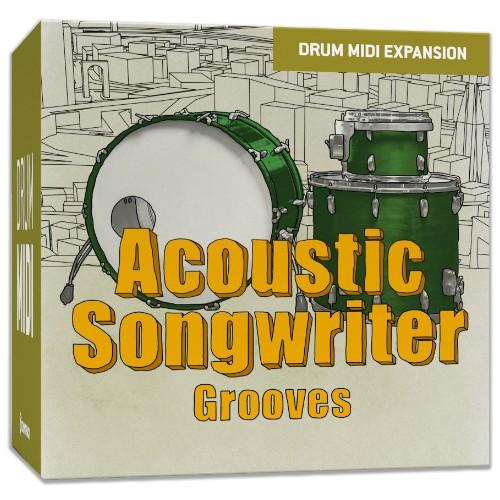 Drum MIDI Acoustic Songwriter Grooves