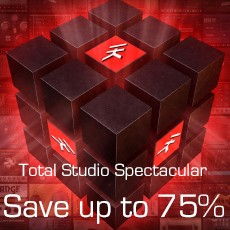 IK Multimedia: Up to 75% OFF Total Studio 2 MAX