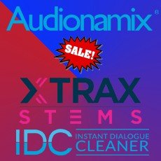 Audionamix - IDC & XTRAX STEMS On Sale