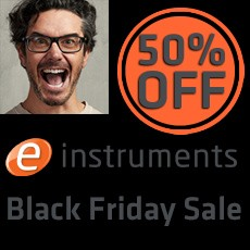 e-instruments - Black Friday Sale: 50% OFF