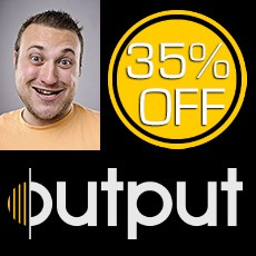 Output November Sale - 35% Off All Software