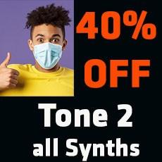 Tone 2 -  40% OFF