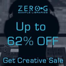Zero-G Get Creative Sale