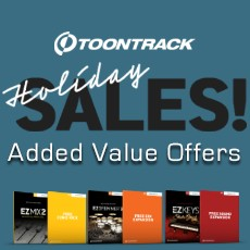 Toontrack: Added Value Offers