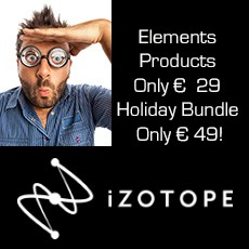 iZotope Early Black Friday Offers
