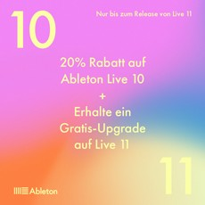 Ableton Live 10 Sell-out - 20% OFF