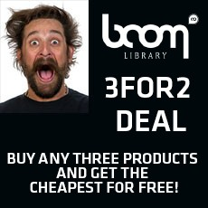 BOOM Library - 3For2 Deal