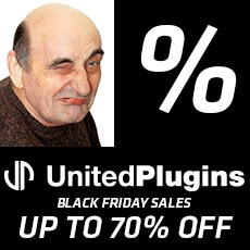 UnitedPlugins - Black Friday Sales - Up to 70% OFF