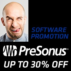 PreSonus Black Friday Software Promo