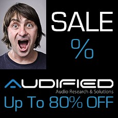 Audified Sale - Up to 80% OFF