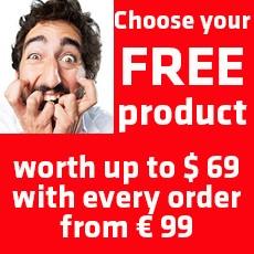 Gratis Produkt mit jeder Bestellung