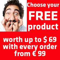 FREE PRODUCT with you order!