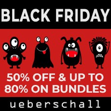 Ueberschall - Black Friday Sale - 50% OFF