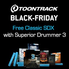 Toontrack Black Friday Week - Free Classic SDX