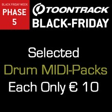 Toontrack Black Friday Week - Deal Five