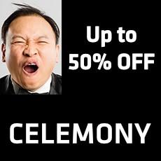 Celemony - 50% OFF