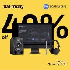 Sonarworks Blue Friday - 40% OFF