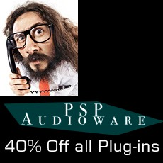 PSP Audioware - 40% OFF All Plugins