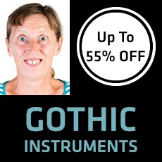Gothic Instruments - Up to 55% OFF