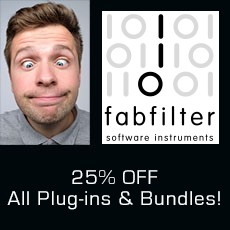FabFilter - 25% Off all Plugins & Bundles