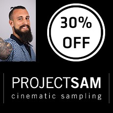 Black Friday Sale 30% Off ProjectSAM