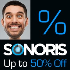 Sonoris Cyber Sale - Up to 50% OFF