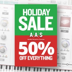 AAS - Holiday Sale - 50% OFF