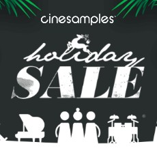 Cinesamples: Holidays Sale - 40% Off