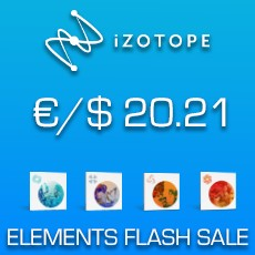 iZotope -  Elements Flash Sale 2021