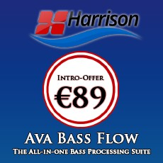 Harrison Consoles - AVA Bass Flow - Intro Offer