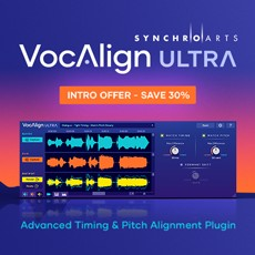 Synchro Arts - VocAlign Ultra - Intro Offer