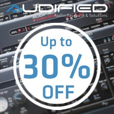 Audified - Drum & Bass Sale - 30% Off
