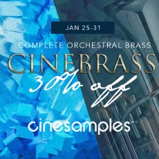Cinesamples - CineBrass Flash Sale - 30% Off