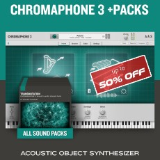AAS Chromaphone 3 + Packs - 50% OFF