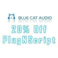 Blue Cat Audio - 20% Off PlugNScript