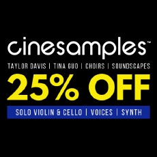 Cinesamples - February Sale - 25% Off