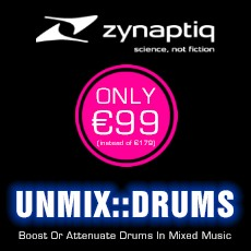 Zynaptiq - Unmix Drums on Sale