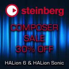 Steinberg Composer Sale - 30% Off