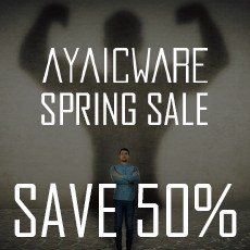 AyaicWare - Spring Sale - 50% Off