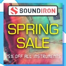 Soundiron - Spring Sale - 25% Off
