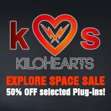 Kilohearts Exploring Space Sale - 50% Off