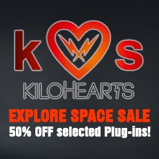 Kilohearts Exploring Space Sale - 50% Off