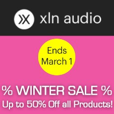 XLN Audio - Winter Sale - Up 50% Off