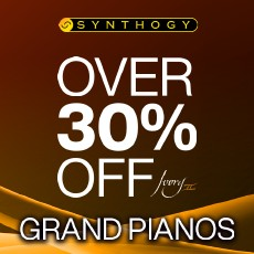 Synthogy Ivory II Grand Pianos On Sale