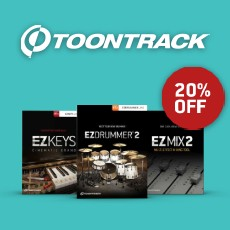 Toontrack - Spring Deals - 20% Off