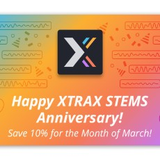 Audionamix - XTRAX STEMS On Sale
