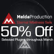 MeldaProduction - Eternal Madness Sale