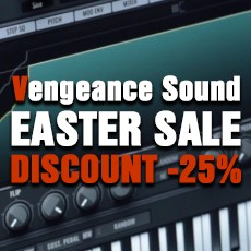 Vengeance Sound - Easter Sale: 25% Off